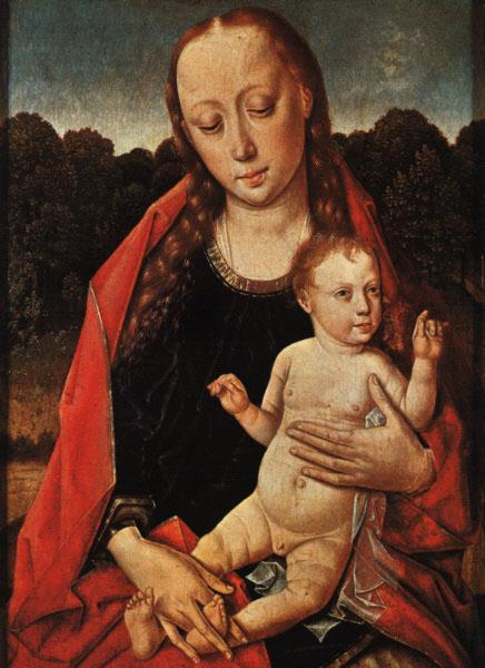 Dieric Bouts The Virgin and Child oil painting image